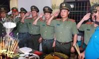 Đồng đội đẫm nước mắt tiễn đưa 3 chiến sỹ hy sinh sau vụ nổ tại trụ sở Công an tỉnh Đắk Lắk