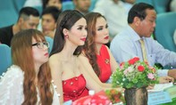 Người đẹp 'Hồ sơ lửa' ngồi 'ghế nóng' cuộc thi sắc đẹp