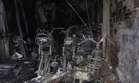 Hiện trường vụ cháy nhà 6 người chết ở Sài Gòn
