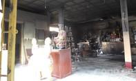 Ngôi chùa trong khu dân cư bốc cháy nhiều người hoảng loạn