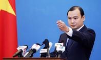 Việt Nam phản đối Trung Quốc thiết đặt vũ khí trái phép trên Biển Đông