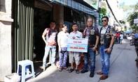 Báo CATP cùng CLB 1St Saigon Free Chapter trao kinh phí sửa nhà cho người nghèo
