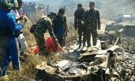 Rơi máy bay quân sự ở Indonesia khiến 13 người thiệt mạng