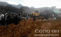Sạt lở núi vùi lấp 4 ngôi nhà ở Khánh Hòa, 2 người chết
