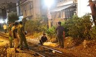 Tàu lửa tông chết người đàn ông đứng trên đường ray