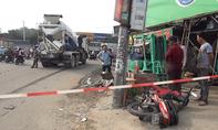 Nam học sinh bị xe bồn lôi 10m trên đường, tử vong
