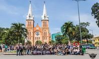 Hàng ngàn 'biker' cả nước chúc mừng sinh nhật Saigon Free Chapter