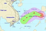 Bão Nock-ten tiến vào Biển Đông, tâm bão gió giật cấp 14-15.