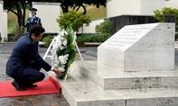 Thủ tướng Nhật đến Hawaii tưởng niệm các nạn nhân trận Trân Châu Cảng