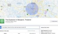 Facebook bị lừa bởi tin đồn, bật tính năng Safety Check ở Bangkok