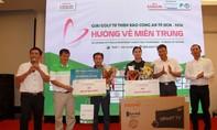 Giải Golf từ thiện Báo Công an TP.HCM năm 2016 nhận được gần 6 tỷ đồng hỗ trợ đồng bào miền Trung