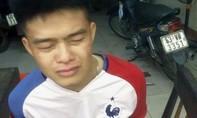 Nam thanh niên giật túi xách bị người dân truy bắt