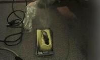 Galaxy S6 bất ngờ bốc cháy trên một chuyến bay ở Trung Quốc