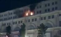 Cháy tòa nhà 7 tầng ở trung tâm Sài Gòn