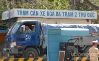 TP HCM: Gian nan bắt xe quá tải