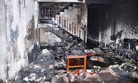 Cháy nhà vắng chủ, hàng chục người tháo chạy