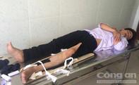 Hai thanh niên tông trọng thương một CSGT đang làm nhiệm vụ