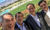 Thủ tướng Singapore Lý Hiển Long khoe ảnh selfie cùng Thủ tướng Nguyễn Tấn Dũng tại Mỹ