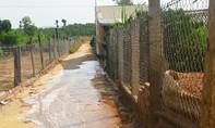 Vỡ đường ống dẫn xút nhà máy bôxít, dân hoang mang