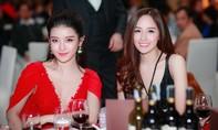 Hoa hậu Mai Phương Thúy xinh đẹp lộng lẫy hội ngộ Huyền My