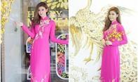 Sao Việt diện áo dài lộng lẫy đón Tết Bính Thân