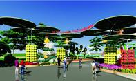 Dự án sân bay Long Thành vào đường hoa Trấn Biên 2016