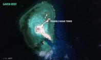 Hình ảnh từ vệ tinh tố Trung Quốc lắp hệ thống radar tần số cao ở Trường Sa