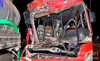 Xe khách tông trực diện xe bồn, 11 người thương vong