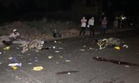 Xe máy đối đầu giữa khuya, 2 người chết thảm