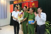 Bí thư Thành uỷ TP.HCM khen thưởng hình sự đặc nhiệm Công an Quận 1