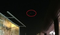 Cảnh sát phát hiện …đĩa bay  trên bầu trời London