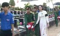 Bình Phước an táng 70 hài cốt liệt sĩ