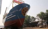 Hạ thủy tàu vỏ thép đầu tiên tại Đà Nẵng
