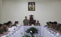 Thứ trưởng Phạm Dũng làm việc với Công an TP.HCM về tình hình an ninh trật tự