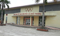 Trung tâm thể thao, văn hóa gần chục tỷ đồng thành nơi chứa rác