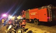 Một gia đình nổ bình ga, 2 người bị bỏng nặng