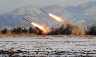 Triều Tiên bắn tiếp tên lửa đạn đạo ra biển