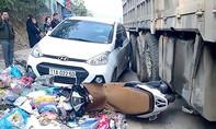 Cao Bằng: Tai nạn liên hoàn 8 ô tô, xe máy