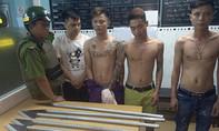 6 ngày triệt phá 5 băng nhóm tội phạm