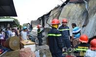 Cháy lớn tại chợ Hoá An