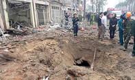 Vụ nổ lớn ở Hà Đông do vật liệu nổ gây ra