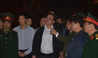 Bí thư Hà Hội đến hiện trường thị sát sau vụ nổ lớn ở Hà Đông