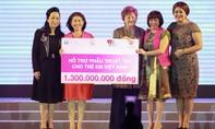 Trao tài trợ 1,3 tỷ đồng để mổ tim cho bệnh nhi nghèo