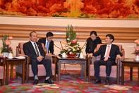 Ủy viên Bộ Chính trị, Chánh án Tòa án Nhân dân Tối cao Việt Nam Trương Hòa Bình thăm và làm việc tại Trung Quốc