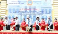 Chánh án TANDTC Trương Hoà Bình yêu cầu TAND TPHCM trùng tu hiệu quả, tránh lãng phí