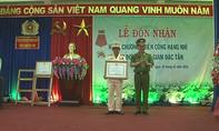 Bộ Công an trao Huân chương Chiến công Hạng Nhì cho Trại giam Đắk Tân