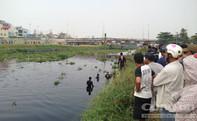 Người nhái tìm kiếm nạn nhân mất tích tại Kênh Tham Lương