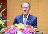 Hôm nay Quốc hội bỏ phiếu miễn nhiệm Chủ tịch Nguyễn Sinh Hùng
