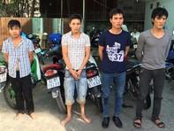 Đánh sập đường dây trộm cắp xe máy xuyên quốc gia