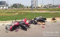 Người đàn ông say xỉn gây tai nạn giao thông lúc giữa trưa